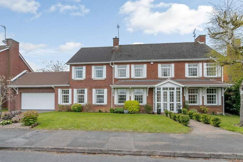 7 Bedrooms Detached House for sale in Cranborne Gardens, Oadby, Leicester, Leicestershire, LE2