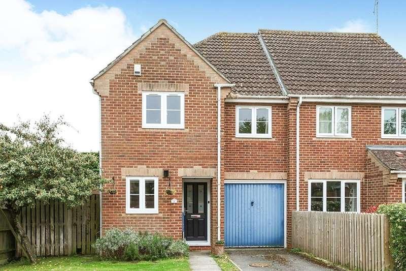 3 Bedrooms Semi Detached House for sale in Kingfishers, Shipton Bellinger, Tidworth, SP9