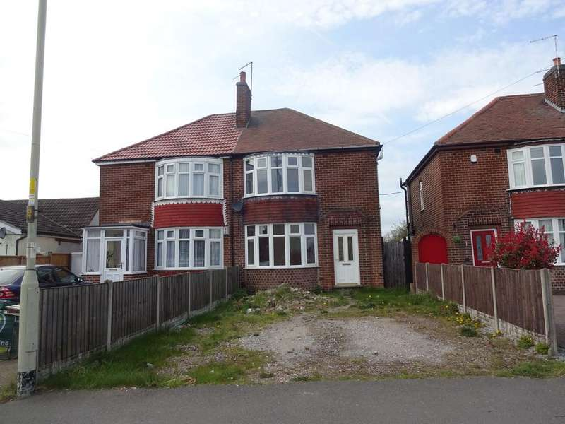 3 Bedrooms Semi Detached House for sale in 275 Thornborough Road, New Swannington, Whitwick, Leicestershire LE67
