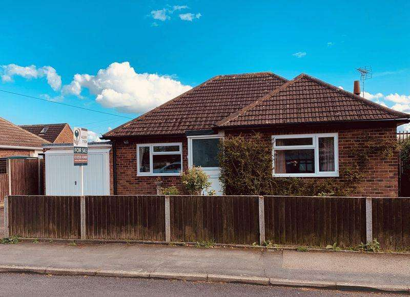 3 Bedrooms Detached Bungalow for sale in Huntingdon Gardens, Market Harborough