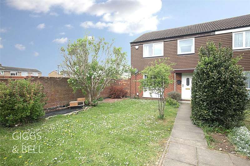 3 Bedrooms End Of Terrace House for sale in Peregrine Road, Luton, Bedfordshire, LU4