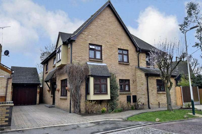 4 Bedrooms Detached House for sale in Spinney Close, Rainham, RM13