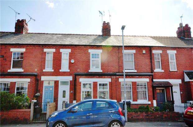 2 Bedrooms Terraced House for sale in Clare Avenue, Hoole, Chester