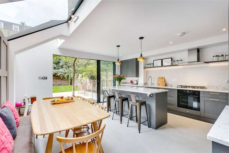 5 Bedrooms Terraced House for sale in Blake Gardens, Parsons Green, Fulham, London, SW6
