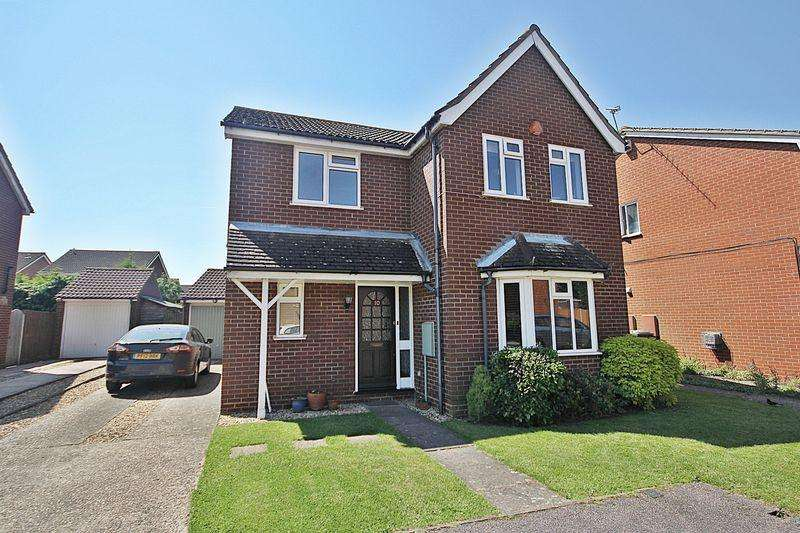 4 Bedrooms Detached House for sale in Ely Close, Flitwick