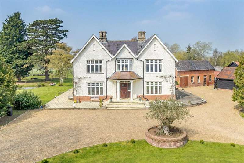 8 Bedrooms Equestrian Facility Character Property for sale in Stanwell Green, Thorndon, Eye, Suffolk, IP23