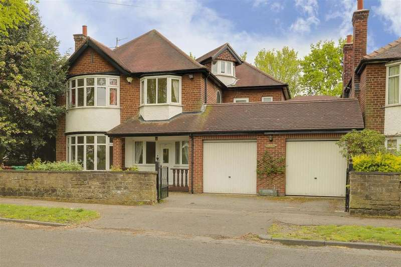4 Bedrooms Detached House for sale in Ribblesdale Road, Sherwood, Nottinghamshire, NG5 3GY
