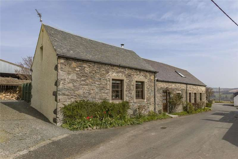 4 Bedrooms Detached House for sale in Lizzy Parks Cottage, Nether Blainslie, Lauder, Scottish Borders