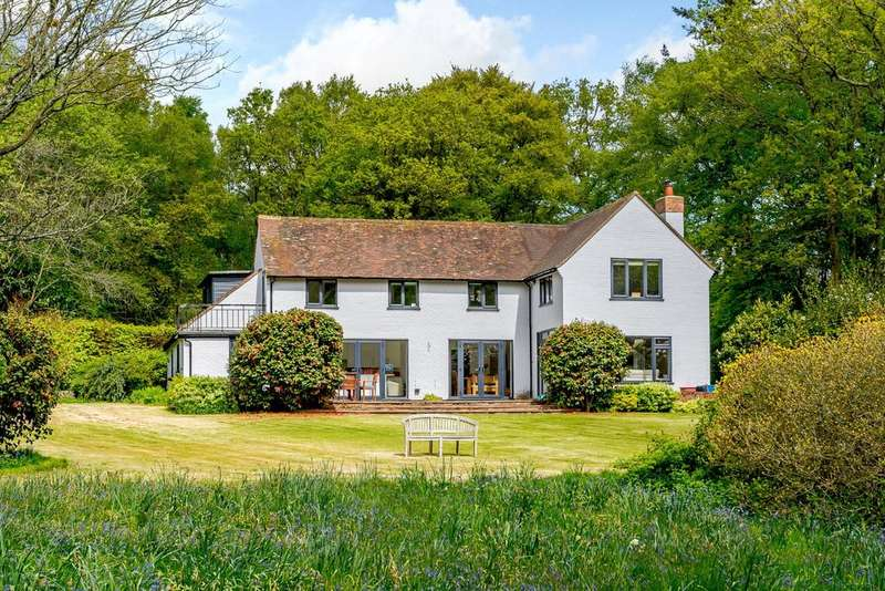 5 Bedrooms Detached House for sale in Chapel Row, Bucklebury, Reading, Berkshire