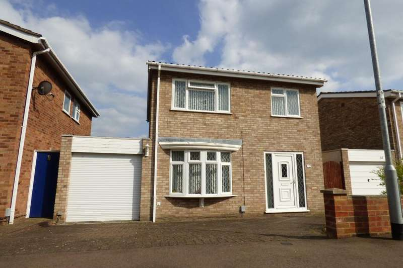 3 Bedrooms Detached House for sale in Brickhill, Bedford, Beds, MK41 7UH