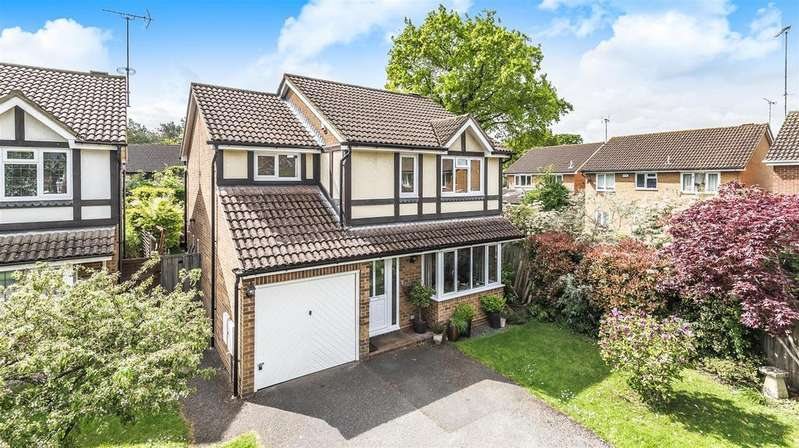 4 Bedrooms Detached House for sale in Merryweather Close, Finchampstead, Berkshire, RG40 4YH