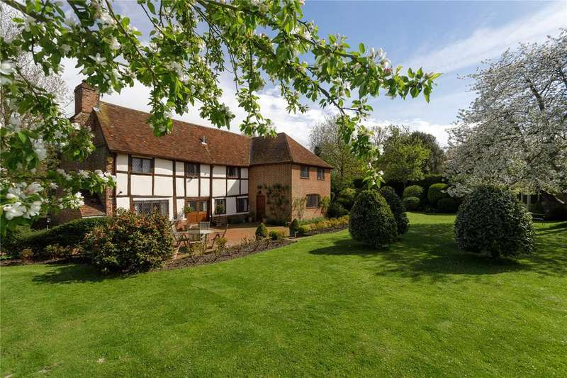 4 Bedrooms Detached House for sale in Ashford Road, Sheldwich, Faversham, Kent