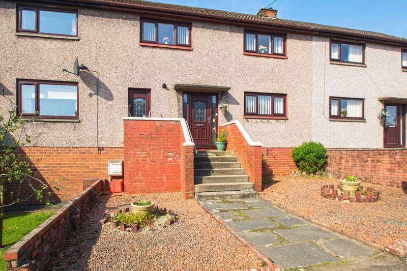 3 Bedrooms Terraced House for sale in Fleming Drive Stewarton KA3