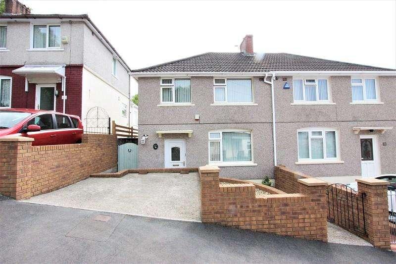 3 Bedrooms Semi Detached House for sale in Graig Park Road, Newport. NP20 6HD