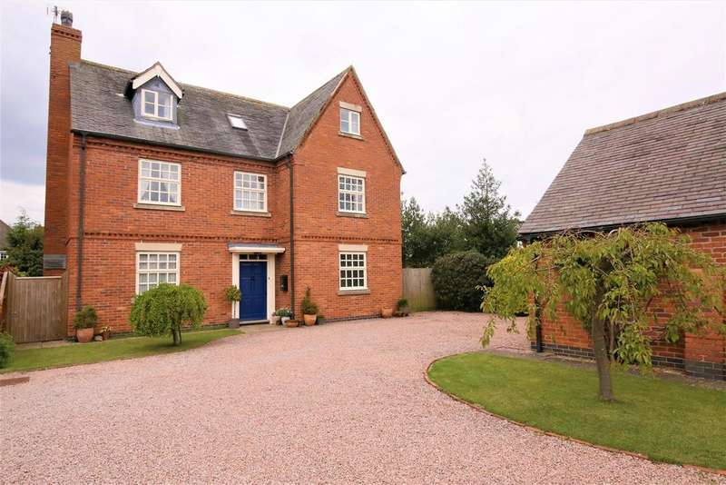 5 Bedrooms Detached House for sale in Church Drive, Gilmorton, Leicestershire