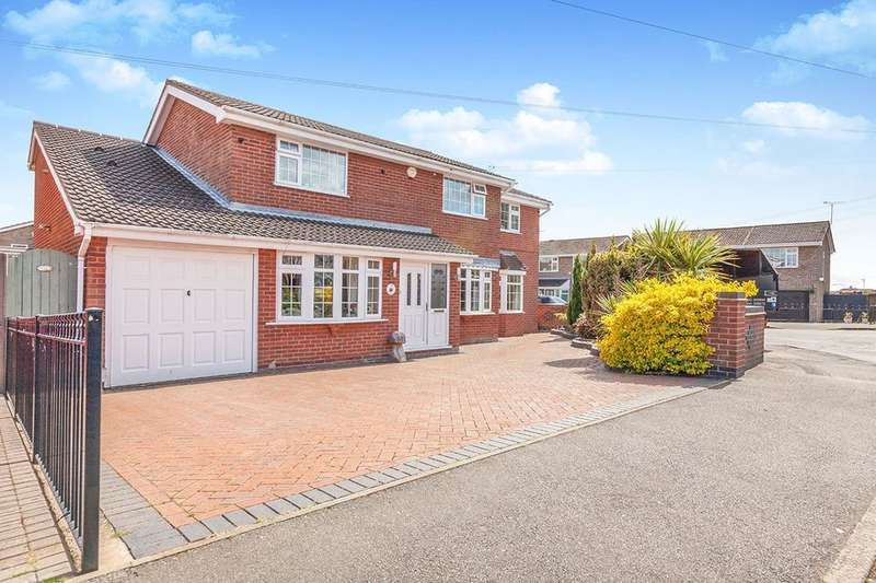 5 Bedrooms Detached House for sale in Parkdale, Ibstock, LE67