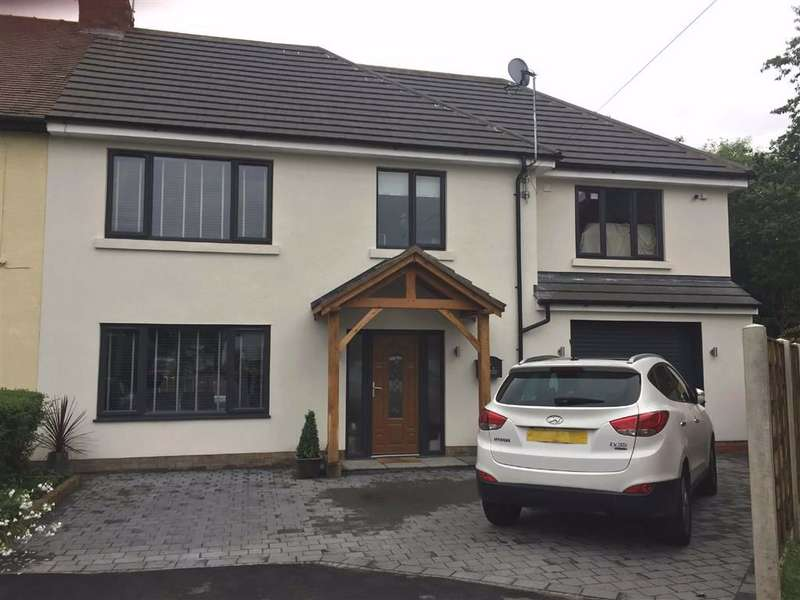 4 Bedrooms Semi Detached House for sale in Hawthorn Avenue, Marple, Stockport