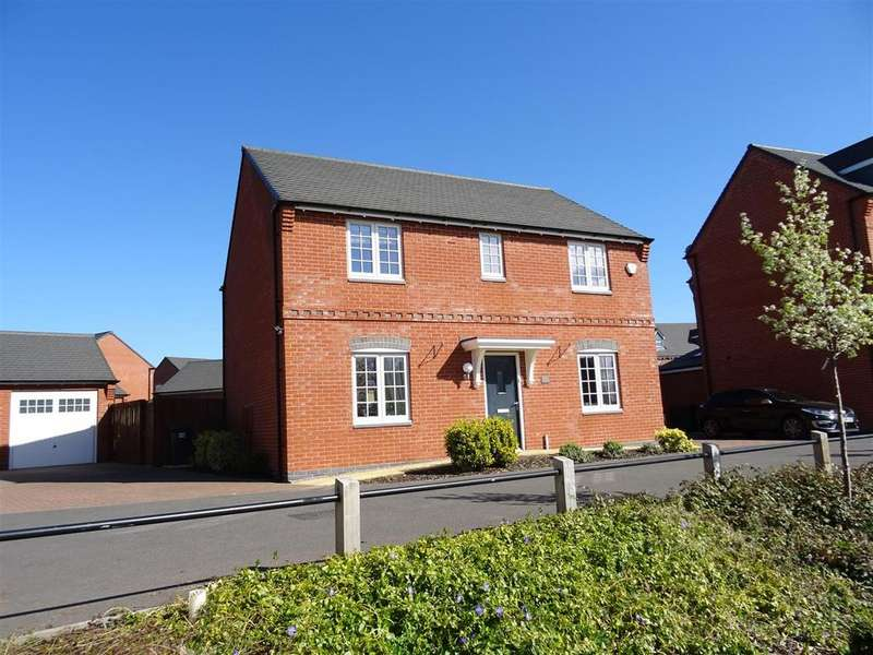 4 Bedrooms Detached House for sale in Mill Hill Wood Way, Ibstock, Leicestershire