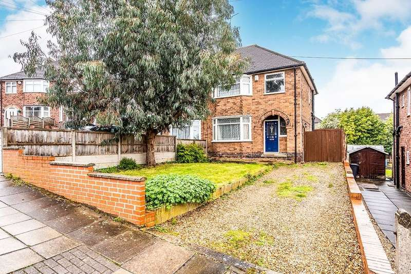 3 Bedrooms Semi Detached House for sale in Ditchling Avenue, Leicester, LE3