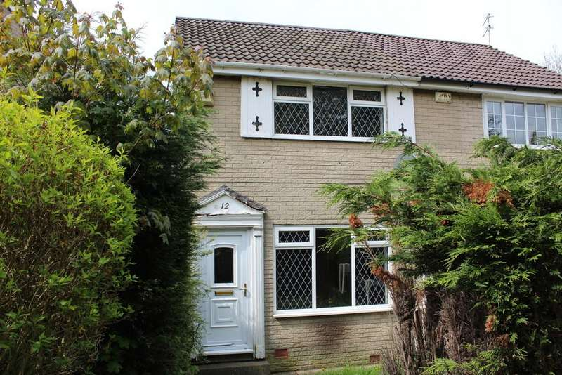 2 Bedrooms Town House for sale in Tame Barn Close, Milnrow, Rochdale