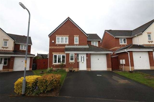 4 Bedrooms Detached House for sale in Pennington Drive, Carlisle, Cumbria, CA3 0PF