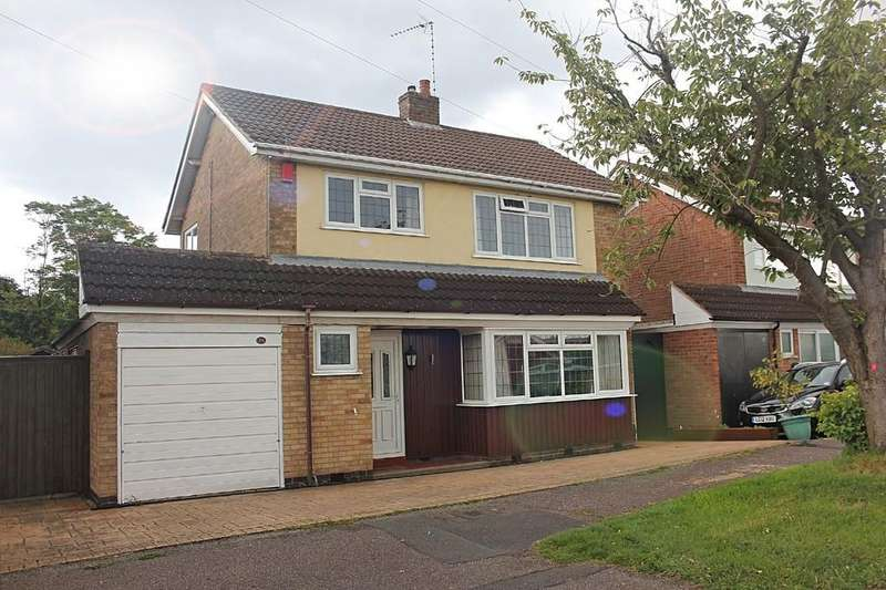 3 Bedrooms Detached House for sale in Tysoe Hill, Glenfield, Leicester