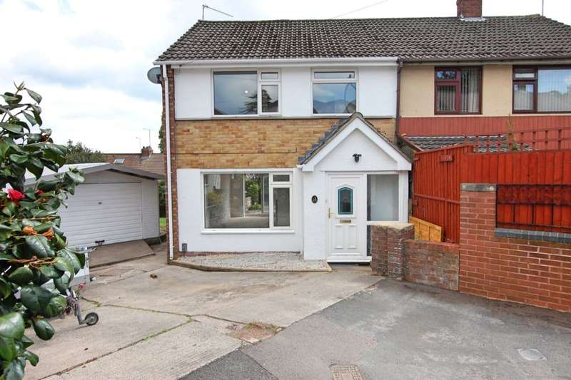 3 Bedrooms Semi Detached House for sale in Brompton Close, Bristol, BS15