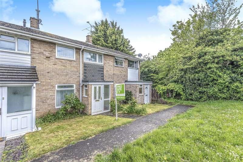 3 Bedrooms Terraced House for sale in Romany Close, Tilehurst, Reading, Berkshire, RG30