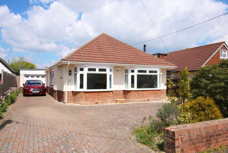 3 Bedrooms Detached Bungalow for sale in Naish Road, Barton On Sea, Hampshire