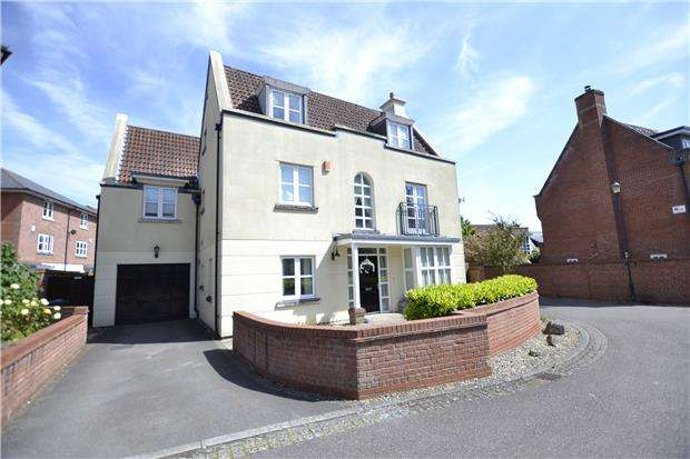 5 Bedrooms Detached House for sale in Royal Victoria Park, Bristol, BS10 6TD