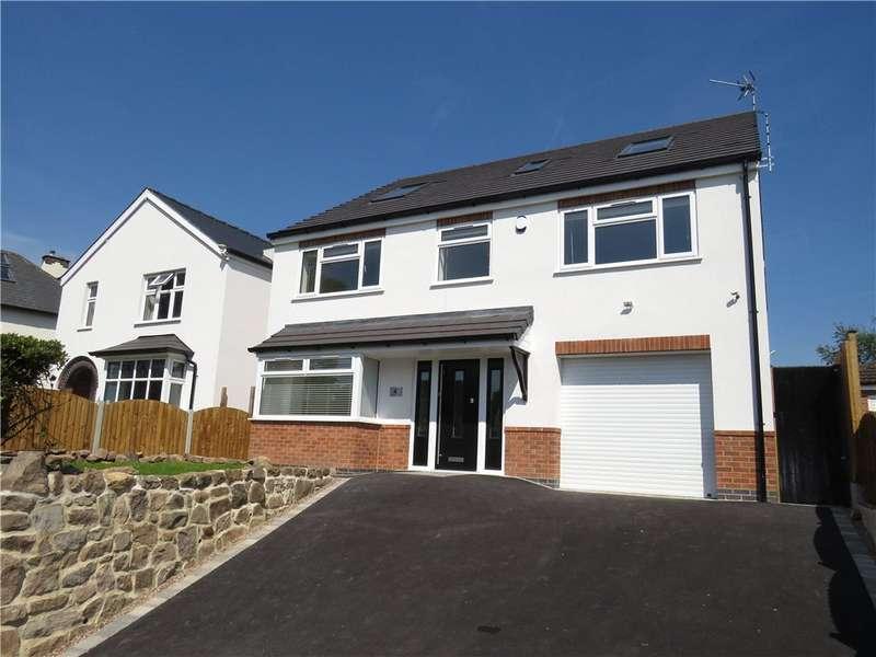 5 Bedrooms Detached House for sale in Robincroft Road, Allestree, Derby, Derbyshire, DE22