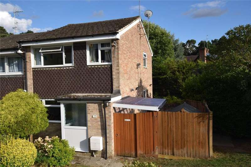 3 Bedrooms Semi Detached House for sale in Pine Ridge Road, Burghfield Common, Reading, RG7