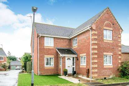 4 Bedrooms Detached House for sale in Shackleton Close, Shortstown, Bedford, Bedfordshire