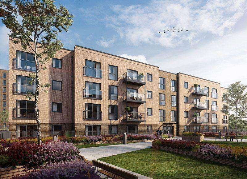 2 Bedrooms Apartment Flat for sale in Saxon Square