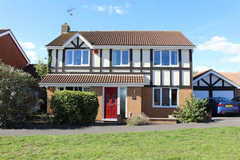 4 Bedrooms Detached House for sale in Burnham Drive, Whetstone, Leicester