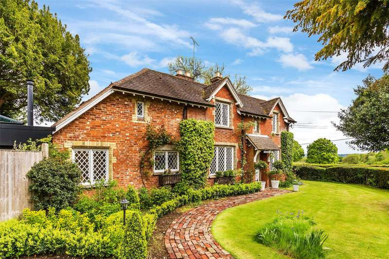 3 Bedrooms Semi Detached House for sale in White Post Cottages, Pootings Road, Four Elms, Edenbridge, TN8