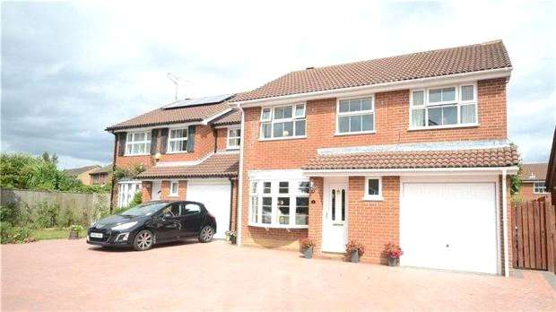 4 Bedrooms Detached House for sale in Freshfield Close, Lower Earley, Reading, Berkshire, RG6