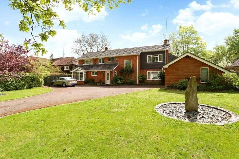 4 Bedrooms Detached House for sale in Skippetts Lane East, Basingstoke, RG21