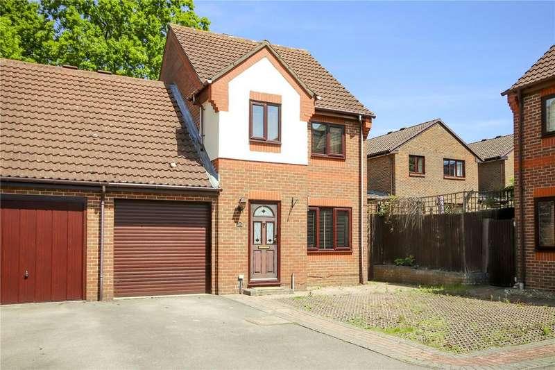4 Bedrooms Link Detached House for sale in Morden Close, The Warren, Bracknell, Berkshire, RG12