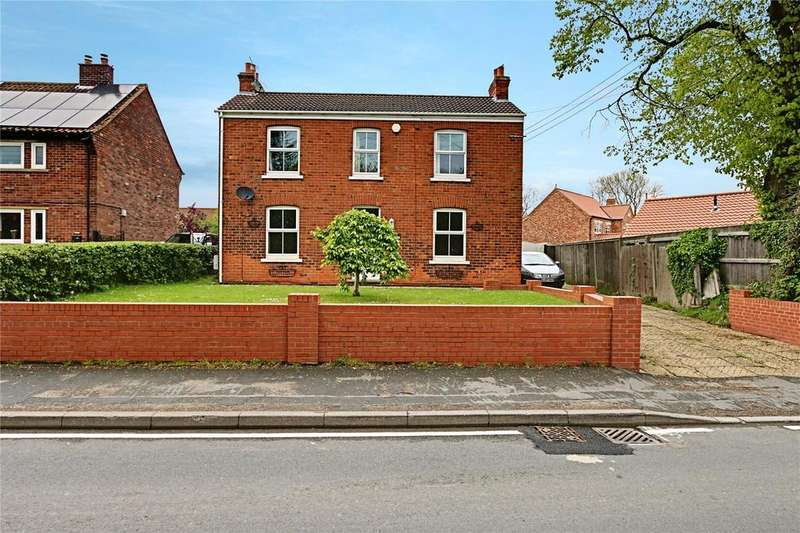 4 Bedrooms Detached House for sale in Spruce Lane, Ulceby, Lincolnshire, DN39