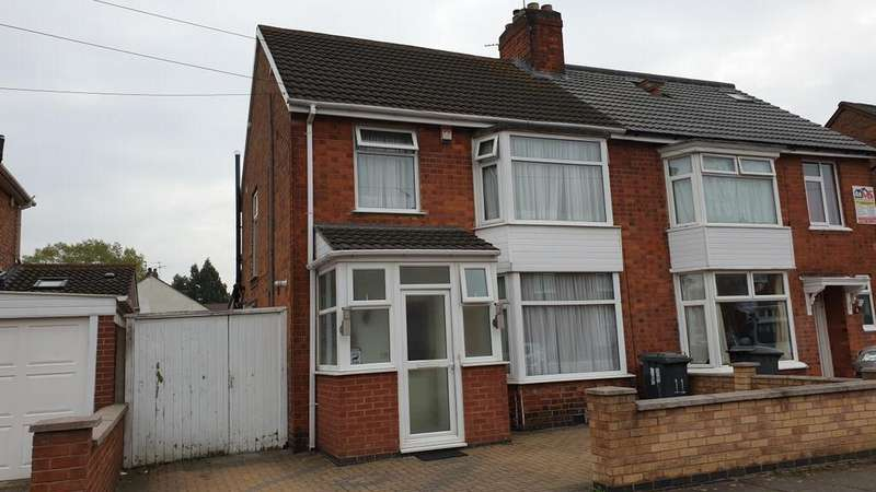 3 Bedrooms Semi Detached House for sale in Strathmore Avenue Leicester