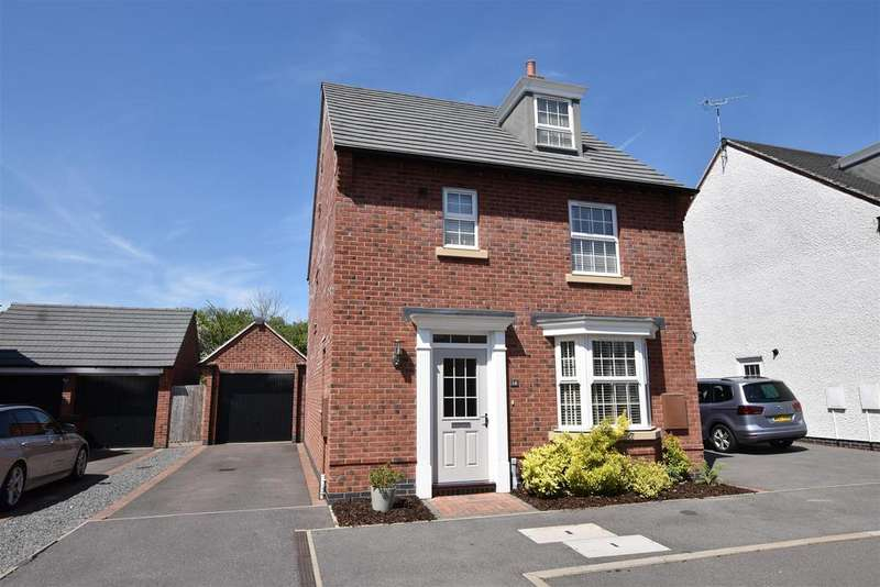 4 Bedrooms Detached House for sale in Crowson Drive, Quorn, Loughborough