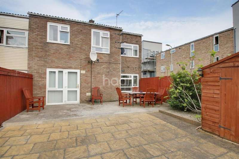 3 Bedrooms End Of Terrace House for sale in Coulson Close, Newport, NP20