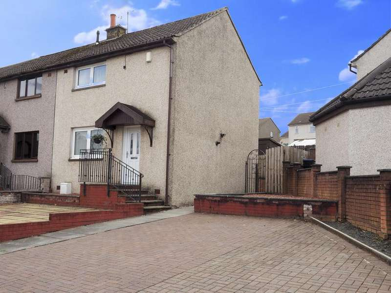 2 Bedrooms End Of Terrace House for sale in Catrine KA5