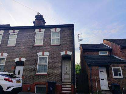 3 Bedrooms End Of Terrace House for sale in Inkerman Street, Luton, Bedfordshire