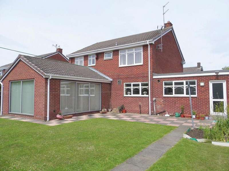4 Bedrooms Detached House for sale in Blair Grove Bishop Auckland