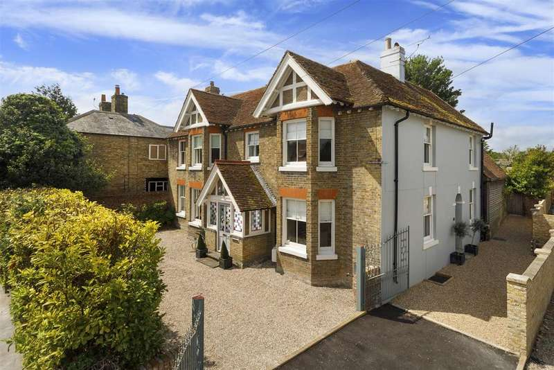 5 Bedrooms Detached House for sale in Eastry