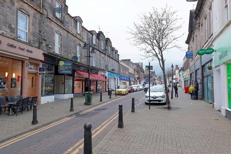 1 Bedroom Flat for sale in High Street, Alloa, Clackmannanshire, FK10 1JE