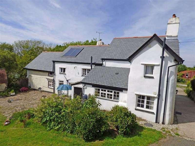 7 Bedrooms Detached House for sale in Frithelstock, Torrington, Devon, EX38