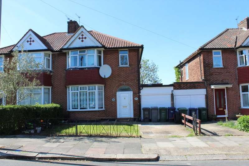 3 Bedrooms Semi Detached House for sale in Cotswold Gardens NW2